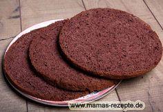 Rezept Wiener Schoko- Tortenboden auf Mamas Rezepte Homepage