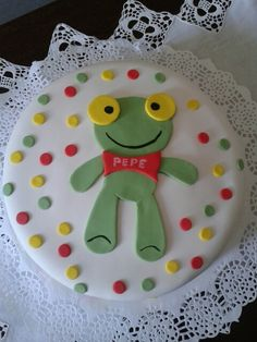 Sapo Pepe!!! Cakes, Deco, Tv, Party, Desserts, Inspiration, Food, Tortilla Pie, 1st Birthdays