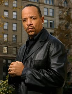 "Detective Odafin ""Fin"" Tutuola, played by Ice-T. He's the funniest person! Everything he says he does it with a straight face, and him and Detectice Munch spar all the time!"