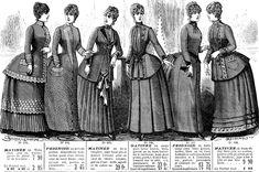 Roupas femininas do século XIX