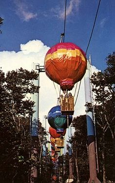 Hot Air Balloons from Land of Oz, Boon NC