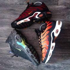 Nike Air Max Plus, Air Max 1, Women's Shoes, Nike Shoes, Nike Airforce 1, Footlocker, Nike Sneakers, Shades Of Black, Nike Sb