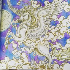 #kerbyrosanes  #mythomorphia  #pegaze  #divadasartes #wonderfulcoloring
