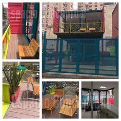 Diseño y Color ... Espacio Conceptual -Sala De Ventas#container #containers…