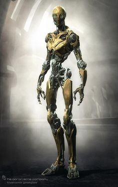 Twitter / CGHUB : Spectacular 3D robot sci-fi ... I've gotta order this, it's my new DNA twin, personal assistant. Isn't he cute!
