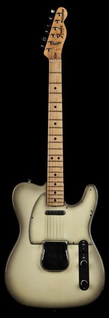 Fender Telecaster '78 Vintage Antigua, a smoky finish that was originally developed in the late '60s to hide scorch marks around the binding of Fender Coronado semi-hollow models