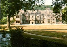 Bibury Court Hotel - Bibury - Cirencester - Gloucestershire - Postcard 1992…
