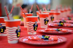 Straw, red, fors,of mickey 2nd Birthday, Minions, Mickey Mouse, Red, Second Anniversary, Minions Love, Minion, Minion Stuff