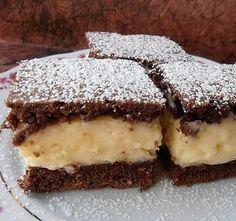 Tejfölös csodasüti, az egyik legolcsóbb krémes sütemény - Blikk Rúzs Pudding, Yummy Food, Snacks, Cookies, Baking, Cake, Recipes, Crack Crackers, Appetizers