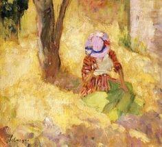 Google Afbeeldingen resultaat voor http://thesleeplessreader.files.wordpress.com/2012/05/woman-reading-in-a-garden-henri-lebasque.jpg%3Fw%3D490