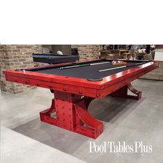 Rexx Pool Table by Plank and Hide.