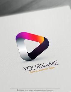 245 Best Free 3D Logo Designs images in 2019 | Logo maker, 3d logo