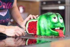Motivtorte Walter Watermelon - Rezept, Videotutorial