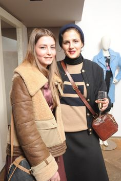 Thanks to Stella Romoli and Francesca Ferretti for visiting us during our #VDPevent! #mfw #MilanFashionWeek #IoDonna