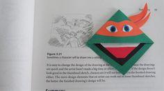 Aprenda como fazer este marcador de página das Tartarugas Ninjas! https://www.youtube.com/watch?v=_nHgjEdnKTs