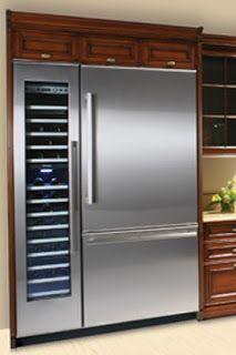 Thermador fridge&wine fridge