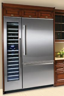 Thermador fridge&wine fridge