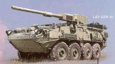 The two variations of the LAV III that will be produced for the Interim Armored Vehicle program are the Infantry Carrier Vehicle and the Mobile Gun System. Description from freerepublic.com. I searched for this on bing.com/images