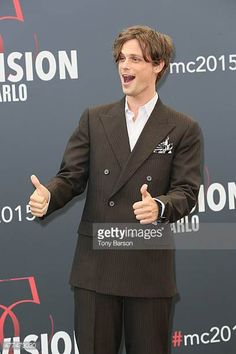 Matthew Gray Gubler attends photocall for 'Criminal Minds' at the Grimaldi Forum on June 17 2015 in MonteCarlo Monaco