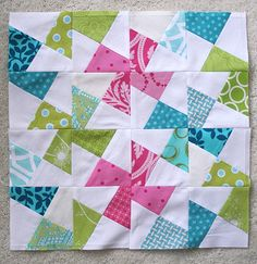3x6 block | for sixtwentyseventh. | freshlypieced | Flickr