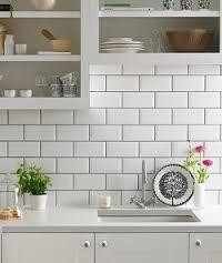 pale grey kitchen tiles - Google Search or white tiles /grey grout cheaper