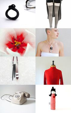 The red line, etsy treasury