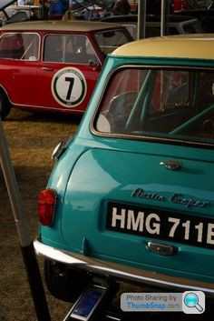 Photos of Surf Blue Mini Cooper @ Goodwood Revival? - Page 2 - Goodwood Events - PistonHeads Goodwood Events, Classic Mini, Classic Cars, Blue Mini Cooper, Iphone Repair, Goodwood Revival, Commercial Vehicle, Retro Cars, Mini Me