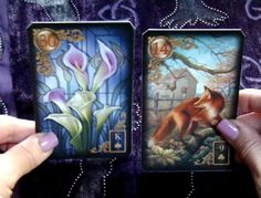 This video takes you on a 7-minute walk through the way Lenormand readings change simply by changing the card order.     This video features the beautiful Gilded Reverie Lenormand by Ciro Marchetti.    http://youtu.be/UVGScCD6YzI