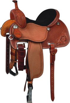 Deep seat barrel saddle