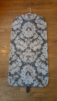 Pewter Medallion Hanging Garment Bag, Garment Bag by CarryItWell on Etsy Rebecca Brown, Etsy Cards, Jungle Print, Garment Bags, Grosgrain Ribbon, Pewter, Great Gifts, Cotton Fabric, Beige