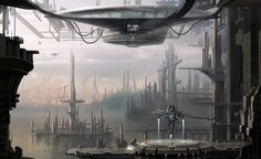 sci fi city - Google Search