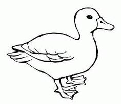 Free printable farm duck coloring page by Kayla\'s Daily Doodle ...