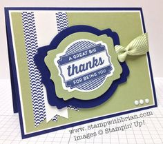 Oh My Goodies, Stampin' Up!, Brian King, FMS139