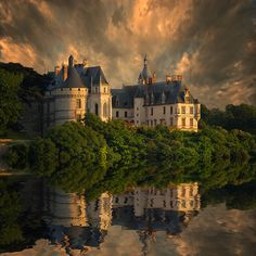 Chateau de Chaumont - an especially pretty view