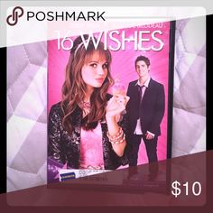 16 Wishes (a really good movie) Debby Ryan (Disney's The suite Life on Deck) stars with Jean-Luc Bilodeau in this comedy about what happens when your wildest dreams come true! Abby has been dreaming about her sweet 16 since she was a little girl... but it starts out anything but sweet. Then she receives a box of mysteriously magical birthday candles. And Sunley Abbys every wish is instantly granted. But one wish turns her perfect new life upside down! Other