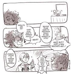 Tododeku Page 3 Boko No Hero Academia, Boku No Academia, My Hero Academia Shouto, Hero Academia Characters, Deku X Todoroki, Cute Gay, I Love Him, Manga Anime, Nerd