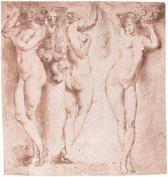 The Three Caryatids by @artistrubens #baroque