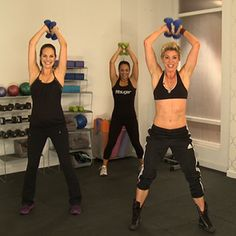 Fit Sugar! A cool website. They have a ton of 10 minute workouts. Combine them together to create an awesome workout!