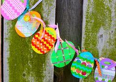 Easter Egg Banner Craft Kit. $17.00, via Etsy.