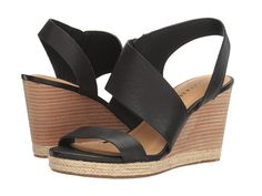 Lucky black wedges