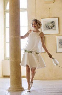 Robe mariée charleston