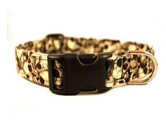 Skulls  Dog Collar by jenniebgoode by JennieBGoodeCollars on Etsy, $16.50