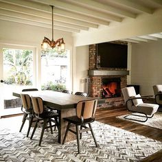 What do you think of Amie's finished design in our #Malibu pad?  I guess it's not that bad with that cozy #fireplace on a cold rainy day.  #ZumaFarms