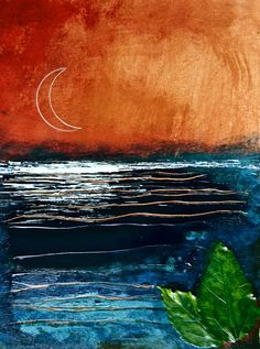 """MoonRise"" - print: $25    https://www.facebook.com/pages/Art-of-Murf/250767048299038?ref=hl      https://twitter.com/artofmurf"