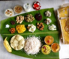 Onam Sadya Lunch  Hubby skipped The Residency lunch treat  just to have this sadya lubch...If I was him I would have chosen the other way  As usual I settled with just few of my favs and gulped all the payasams...Truely speaking I am not fond of any type of meals either sadya or south indian... give me roti,sabji and little rice I will be happy for life I asked amma to babysit gugu and happily cooked till hearts content☺