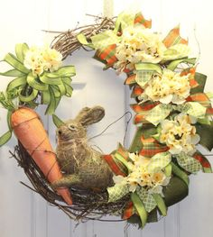 Easter-Spring-Floral-Bunny-Grapevine-Wreath