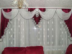 Living Room Decor Curtains, Home Curtains, Curtains With Blinds, Bedroom Decor, Valances, Elegant Curtains, Beautiful Curtains, Modern Curtains, Chandelier Wedding Decor