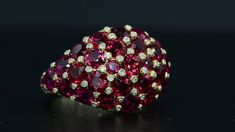 Ambar: Custom Engagement Rings and Fine Jewelry Bez Ambar s Domed Ruby ring is a combination of bright diamonds and captivating red rubies.Bez Ambar s Domed Ruby ring is a combination of bright diamonds and captivating red rubies. Ruby Jewelry, Stone Jewelry, Diamond Jewelry, Jewelry Rings, Jewelry Accessories, Jewelry Design, Ruby Diamond Rings, Emerald Rings, Diamond Bracelets