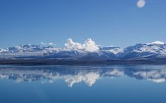 Mountains landscapes nature reflections (2560x1600, landscapes, nature, reflections)  via www.allwallpaper.in