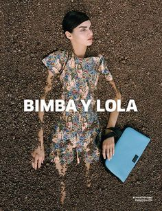 cool Magda Laguinge by Synchrodogs for Bimba Y Lola S/S 2015  [Campaign]